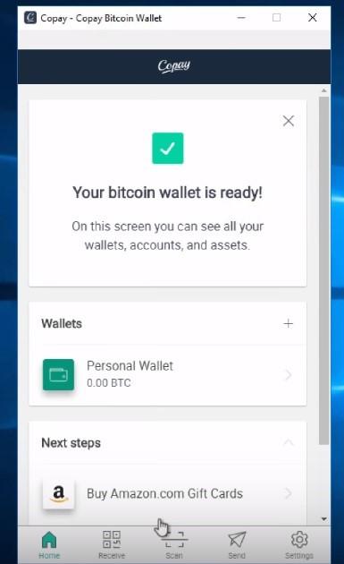Come scaricare e installare il portafoglio COPAY