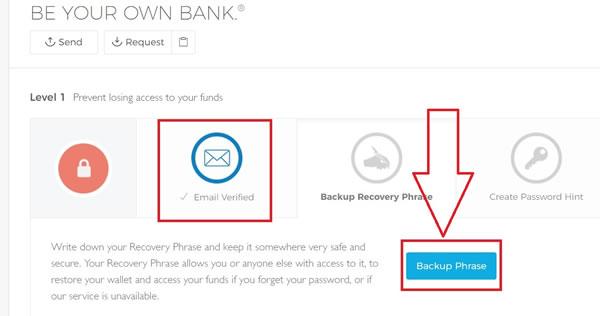 Come creare e configurare un portafoglio online in BLockchain.info